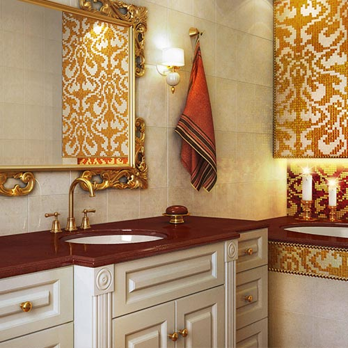 Bathroom Vanity Tops With Sinks In Marble Granite Mr