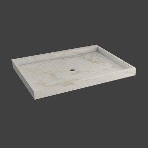 Custom Shower floor Ramp- Threshold-M37