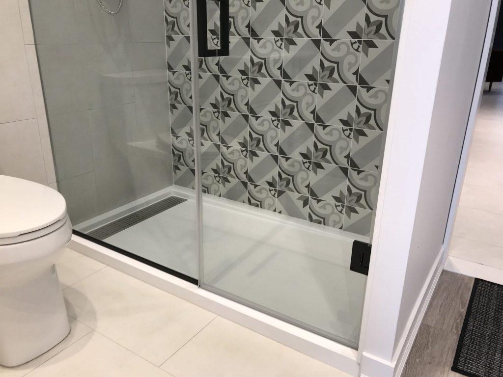 bath room door