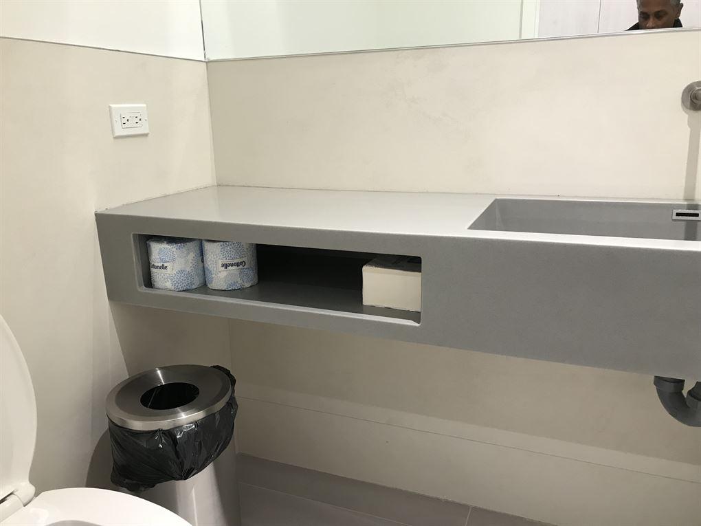 steel sink & steel bin