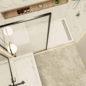 wall panel mirror