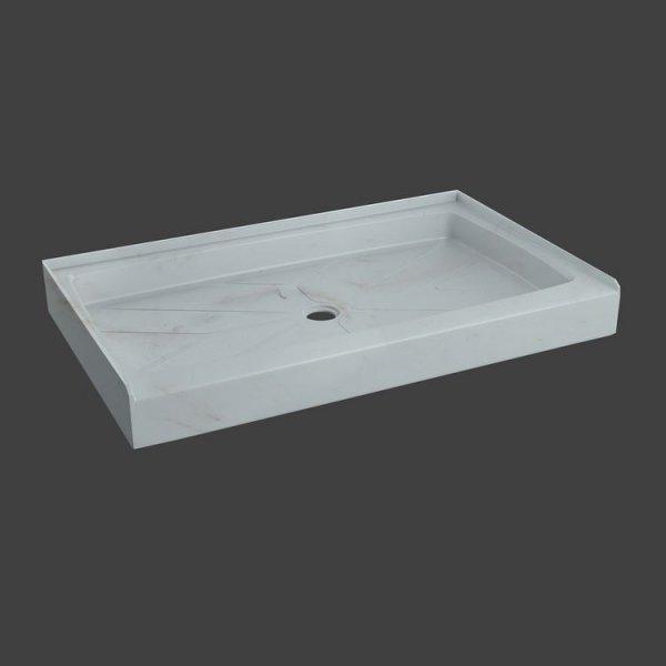 fixed shower base rectangular-M33