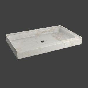 fixed shower base rectangular-M37