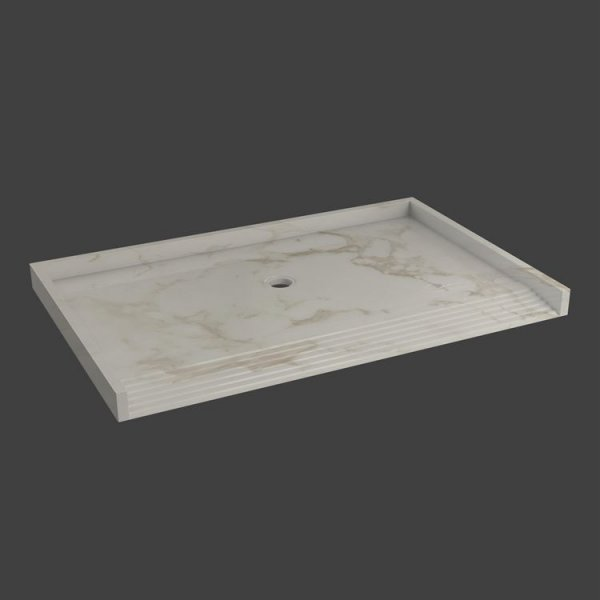 shower base floor with ramp-M37