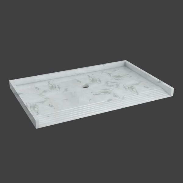 shower base floor with ramp-M815