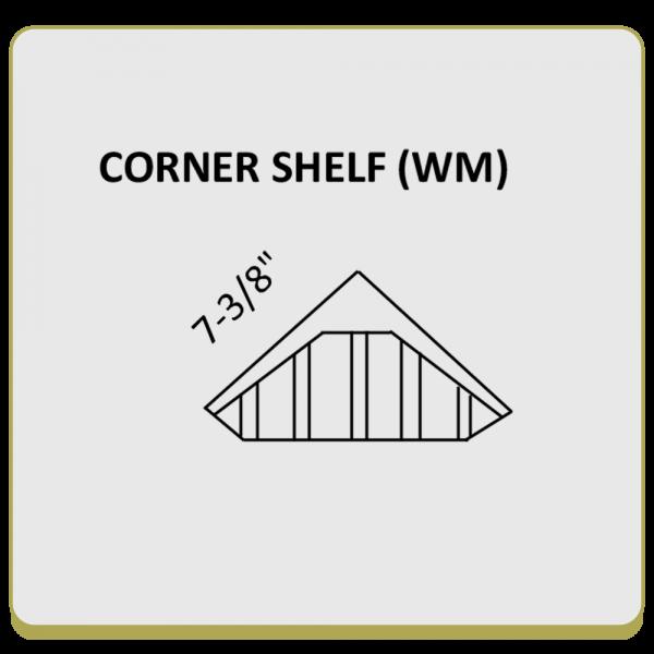 Corner Diamond Soap Shelf