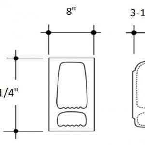 Soap-Shampoo Holder diagram